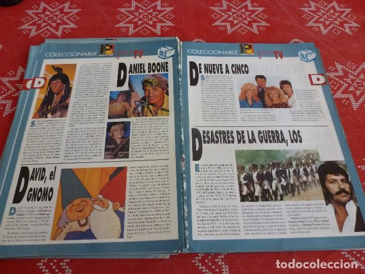 Cine: 112 PAGINAS DEL COLECCIONABLE DE PANTALLA 3 AÑOS 90 CON LAS SERIES DE LA HISTORIA DE LA TV - Foto 19 - 206961987