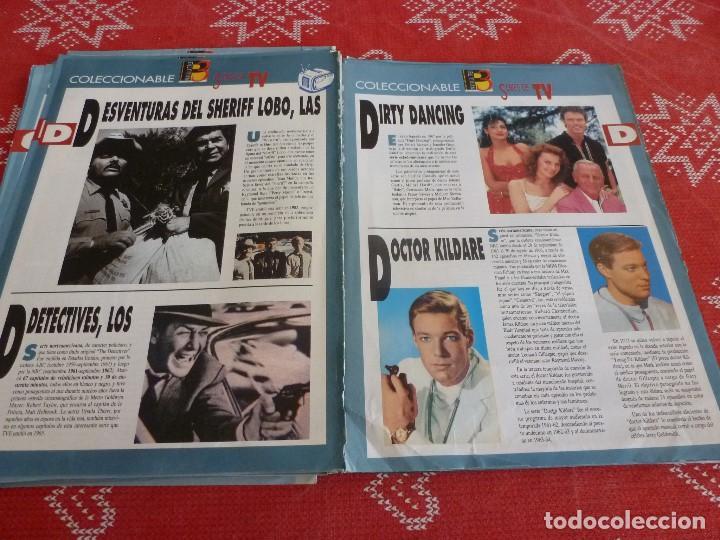 Cine: 112 PAGINAS DEL COLECCIONABLE DE PANTALLA 3 AÑOS 90 CON LAS SERIES DE LA HISTORIA DE LA TV - Foto 20 - 206961987
