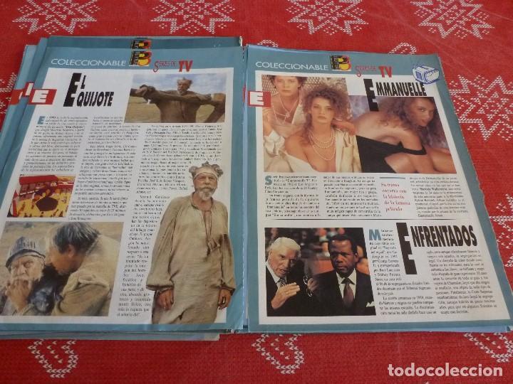 Cine: 112 PAGINAS DEL COLECCIONABLE DE PANTALLA 3 AÑOS 90 CON LAS SERIES DE LA HISTORIA DE LA TV - Foto 21 - 206961987