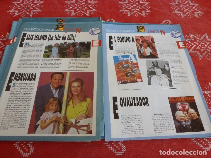 Cine: 112 PAGINAS DEL COLECCIONABLE DE PANTALLA 3 AÑOS 90 CON LAS SERIES DE LA HISTORIA DE LA TV - Foto 22 - 206961987