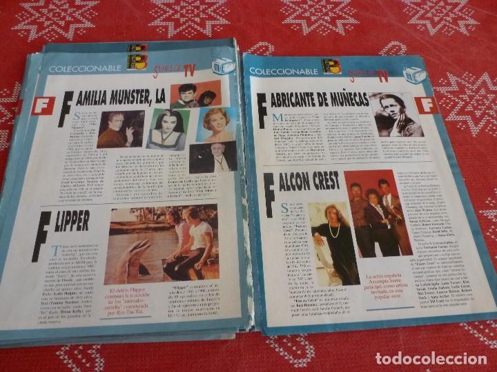 Cine: 112 PAGINAS DEL COLECCIONABLE DE PANTALLA 3 AÑOS 90 CON LAS SERIES DE LA HISTORIA DE LA TV - Foto 24 - 206961987