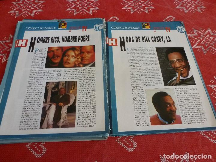 Cine: 112 PAGINAS DEL COLECCIONABLE DE PANTALLA 3 AÑOS 90 CON LAS SERIES DE LA HISTORIA DE LA TV - Foto 25 - 206961987
