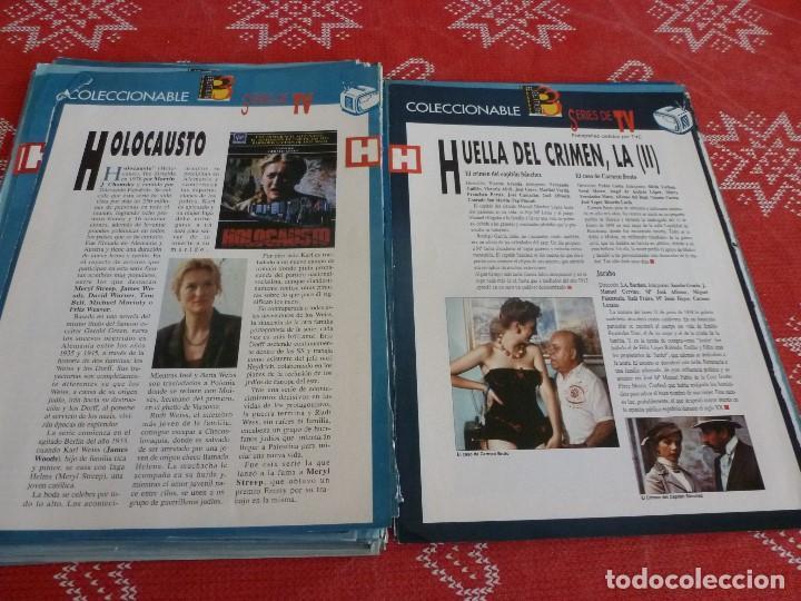 Cine: 112 PAGINAS DEL COLECCIONABLE DE PANTALLA 3 AÑOS 90 CON LAS SERIES DE LA HISTORIA DE LA TV - Foto 26 - 206961987