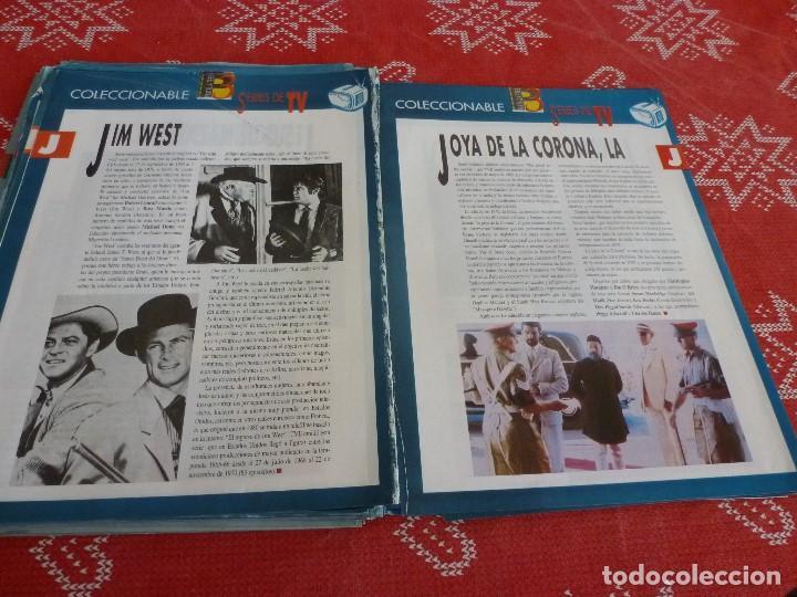 Cine: 112 PAGINAS DEL COLECCIONABLE DE PANTALLA 3 AÑOS 90 CON LAS SERIES DE LA HISTORIA DE LA TV - Foto 30 - 206961987