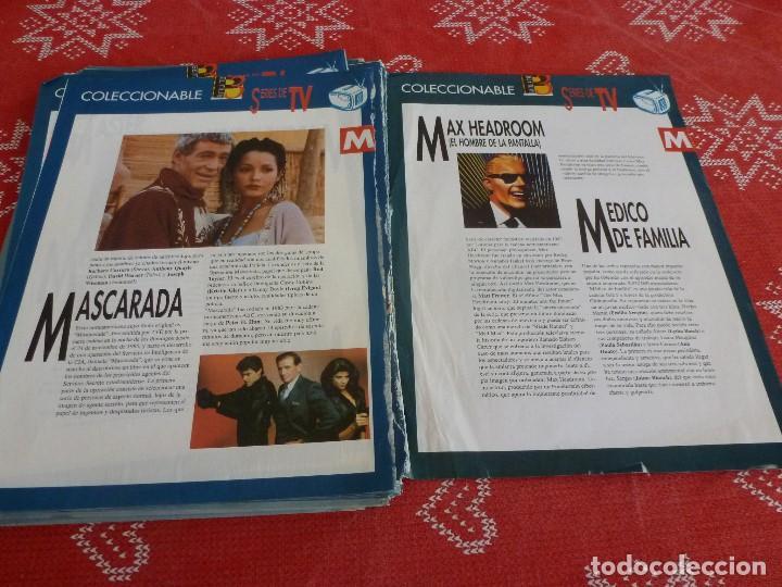 Cine: 112 PAGINAS DEL COLECCIONABLE DE PANTALLA 3 AÑOS 90 CON LAS SERIES DE LA HISTORIA DE LA TV - Foto 32 - 206961987