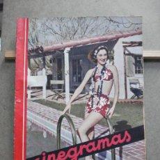 Cine: AAK19 ANN DVORAK PISCINA REVISTA ESPAÑOLA CINEGRAMAS Nº 46 JULIO 1935. Lote 207066753