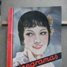Cine: AAK20 MONETTE DINAY REVISTA ESPAÑOLA CINEGRAMAS Nº 47 AGOSTO 1935. Lote 207066970