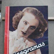 Cine: AAK28 FLORINE MCKINNEY REVISTA ESPAÑOLA CINEGRAMAS Nº 55 SEPTIEMBRE 1935. Lote 207072006