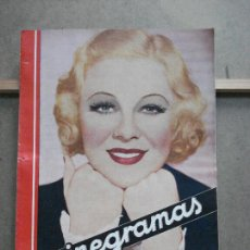 Cine: AAK30 GLENDA FARRELL REVISTA ESPAÑOLA CINEGRAMAS Nº 57 OCTUBRE 1935. Lote 207072498