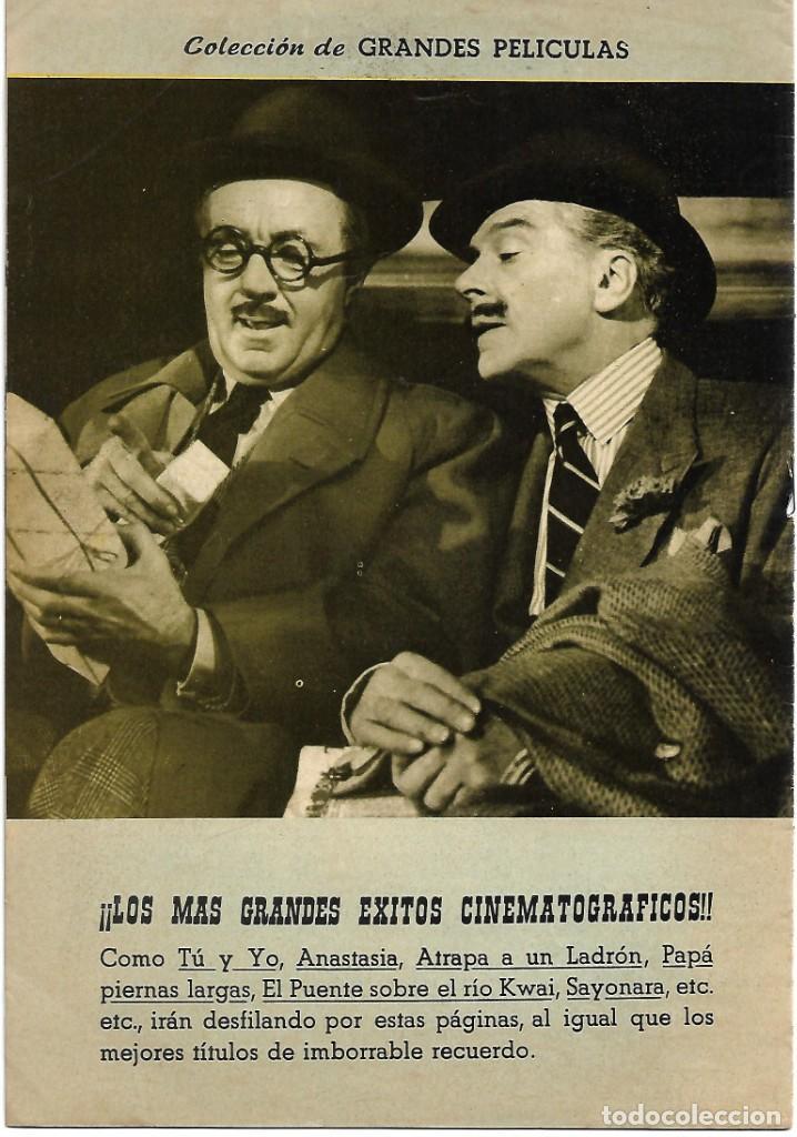 Cine: COL.GRANDES PELICULAS Nº 16-EL HOMBRE DEL TRAJE GRIS,1959 BUEN ESTADO - LEER Y VER FOTOS - Foto 2 - 207073753