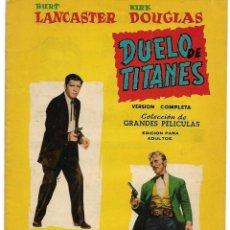 Cine: COL.GRANDES PELICULAS Nº 14-DUELO DE TITANES,1959 BUEN ESTADO - LEER Y VER FOTOS. Lote 207073922