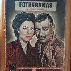 Cine: FOTOGRAMAS 281 EXTRAORDINARIO DE PASCUA ABRIL 1954 CLARCK GABLE AVA GARDNER AUDREY HEPBURN.... Lote 207088113
