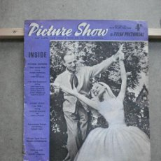 Cine: AAK35 AUDREY HEPBURN FRED ASTAIRE REVISTA INGLESA PICTURE SHOW VOL 68 Nº 1778 ABRIL 1957. Lote 207097251
