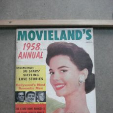 Cine: AAK36 NATALIE WOOD REVISTA AMERICANA MOVIELAND'S 1958 ANNUAL. Lote 207097365