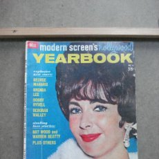 Cine: AAK41 ELIZABETH TAYLOR REVISTA AMERICANA MODERN SCREEN'S HOLLYWOOD YEARBOOK Nº5 1962. Lote 207100436