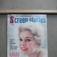 Cine: AAK42 KIM NOVAK REVISTA AMERICANA SCREEN STORIES JUNIO 1958. Lote 207100952