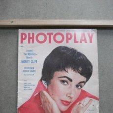 Cine: AAK44 ELIZABETH TAYLOR REVISTA AMERICANA PHOTOPLAY DICIEMBRE 1954. Lote 207104311