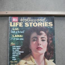 Cine: AAK45 ELIZABETH TAYLOR REVISTA AMERICANA HOLYWOOD LIFE STORIES Nº8 1958. Lote 207105001