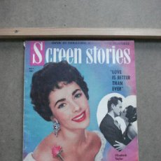 Cine: AAK47 ELIZABETH TAYLOR REVISTA AMERICANA SCREEN STORIES MAYO 1952. Lote 207106045
