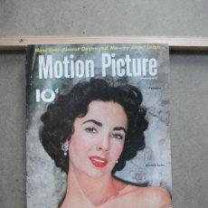 Cine: AAK49 ELIZABETH TAYLOR REVISTA AMERICANA MOTION PICTURE VOL 81 Nº1 FEBRERO 1951. Lote 207107045