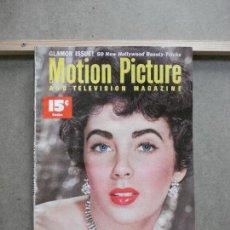 Cine: AAK50 ELIZABETH TAYLOR REVISTA AMERICANA MOTION PICTURE VOL 84 Nº3 OCTUBRE 1952. Lote 207108908