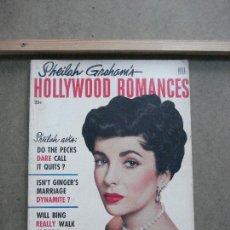 Cine: AAK51 ELIZABETH TAYLOR REVISTA AMERICANA HOLLYWOOD ROMANCES Nº3 1953. Lote 207115136