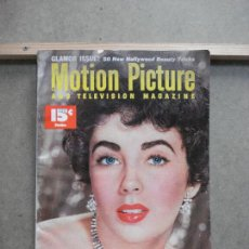 Cine: AAK52 ELIZABETH TAYLOR REVISTA AMERICANA MOTION PICTURE VOL 84 Nº3 OCTUBRE 1952. Lote 207116116