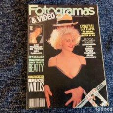 Cine: FOTOGRAMAS Nº 1766 AÑO 1990 MADONNA, JODIE FOSTER, BRUCE WILLIS. Lote 207124756