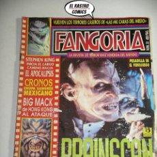 Cine: FANGORIA Nº 33, ED. ZINCO, REVISTA CINE TERROR HORROR GORE VIOLENCIA ACCION (A) C8. Lote 207419996