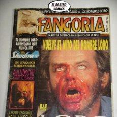 Cine: FANGORIA Nº 34, ED. ZINCO, REVISTA CINE TERROR HORROR GORE VIOLENCIA ACCION C8. Lote 207421027