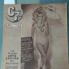 Cine: CINE EN SIETE DIAS - REVISTA Nº267 DE 21 DE MAYO DE 1966. Lote 207434225