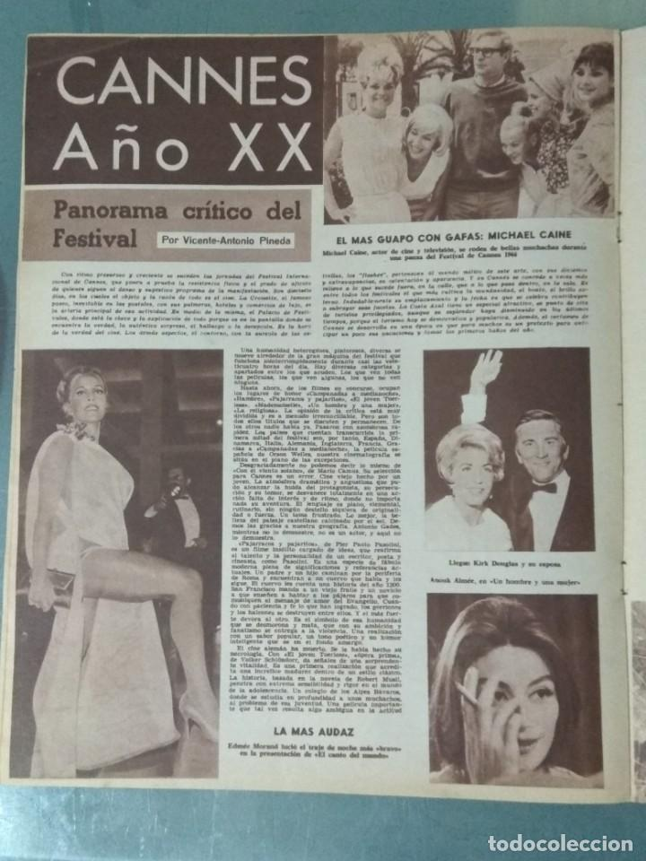 Cine: CINE EN SIETE DIAS - REVISTA Nº267 DE 21 DE MAYO DE 1966 - Foto 4 - 207434225
