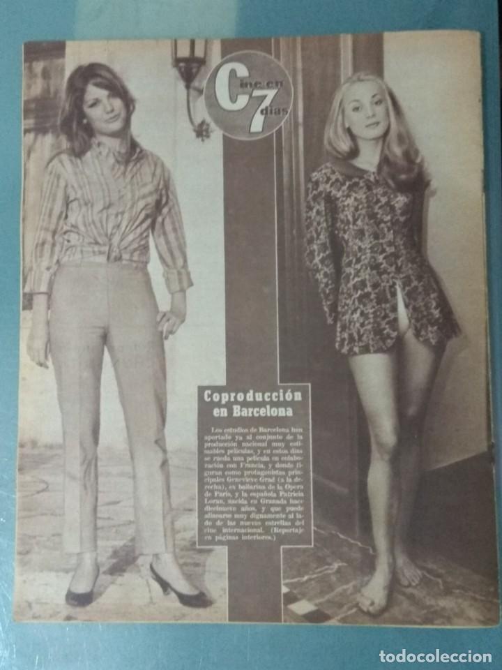 Cine: CINE EN SIETE DIAS - REVISTA Nº267 DE 21 DE MAYO DE 1966 - Foto 8 - 207434225