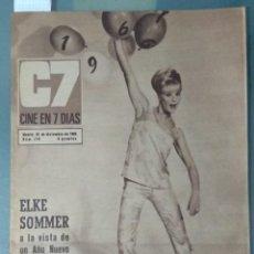Cine: CINE EN SIETE - REVISTA Nº 298 DE 24 DE DICIEMBRE DE 1966. Lote 207436592