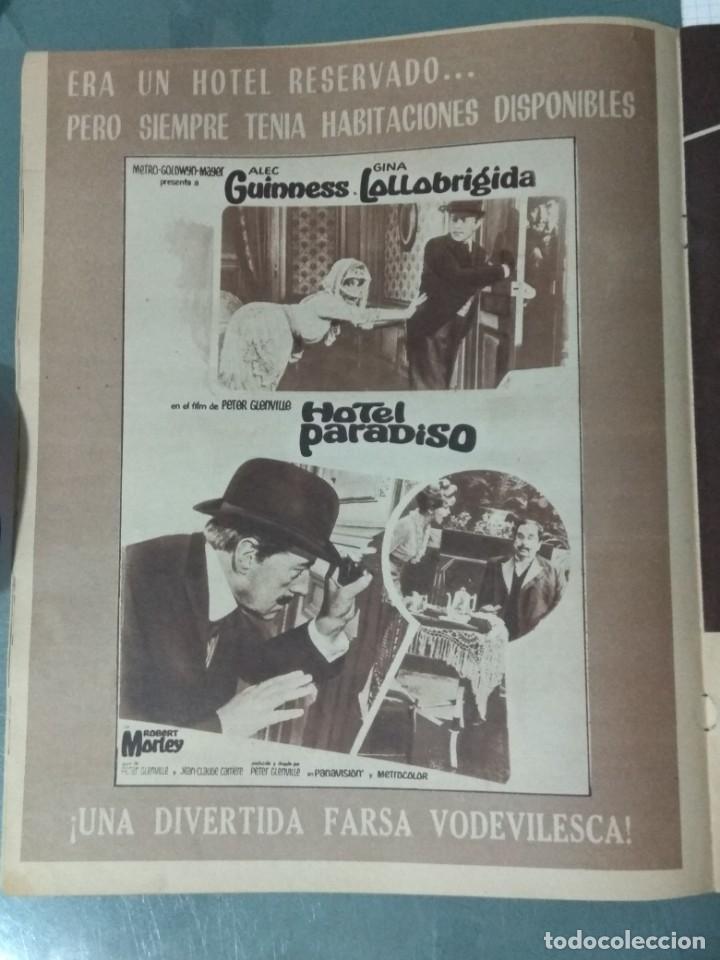 Cine: CINE EN SIETE - REVISTA Nº 298 DE 24 DE DICIEMBRE DE 1966 - Foto 3 - 207436592