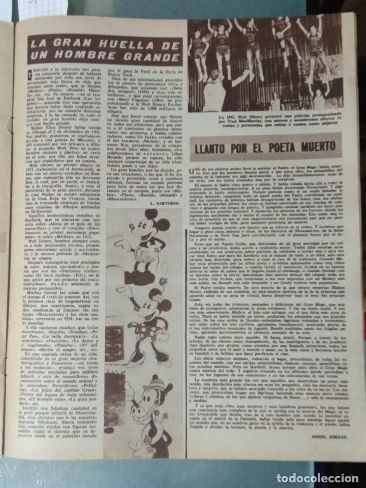 Cine: CINE EN SIETE - REVISTA Nº 298 DE 24 DE DICIEMBRE DE 1966 - Foto 5 - 207436592