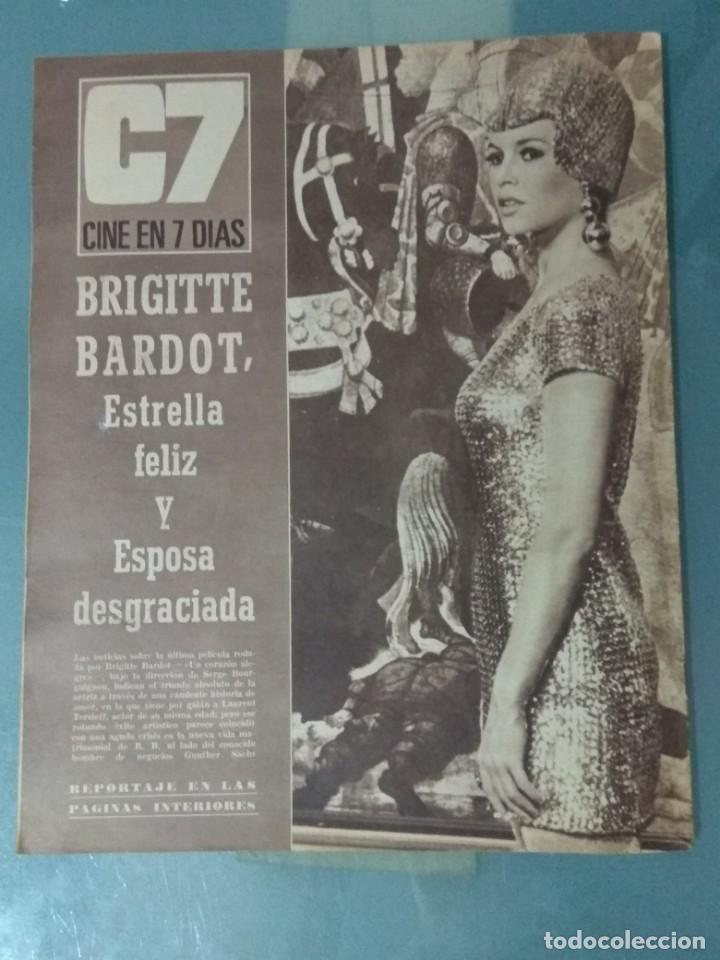 Cine: CINE EN SIETE - REVISTA Nº 298 DE 24 DE DICIEMBRE DE 1966 - Foto 10 - 207436592