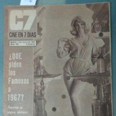 Cine: CINE EN SIETE DIAS - REVISTA Nº 300 DE 7 DE ENERO DE 1967. Lote 207436781