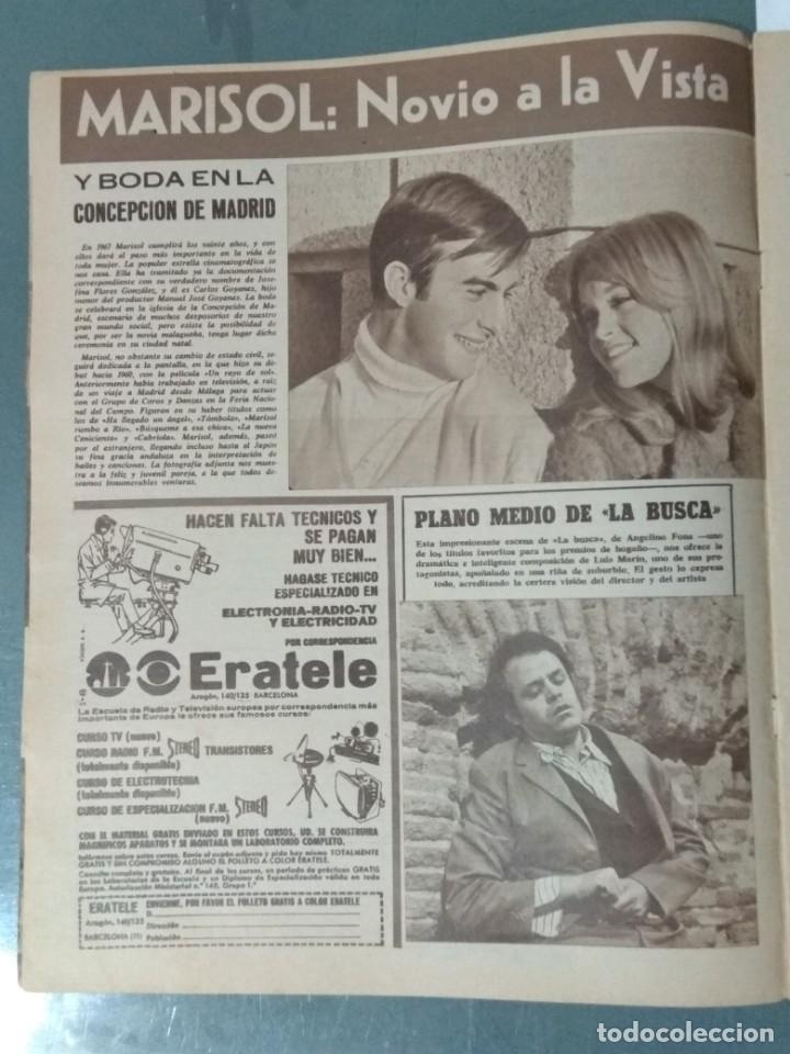 Cine: CINE EN SIETE DIAS - REVISTA Nº 302 DE 21 DE ENERO DE 1967 - Foto 2 - 207437103