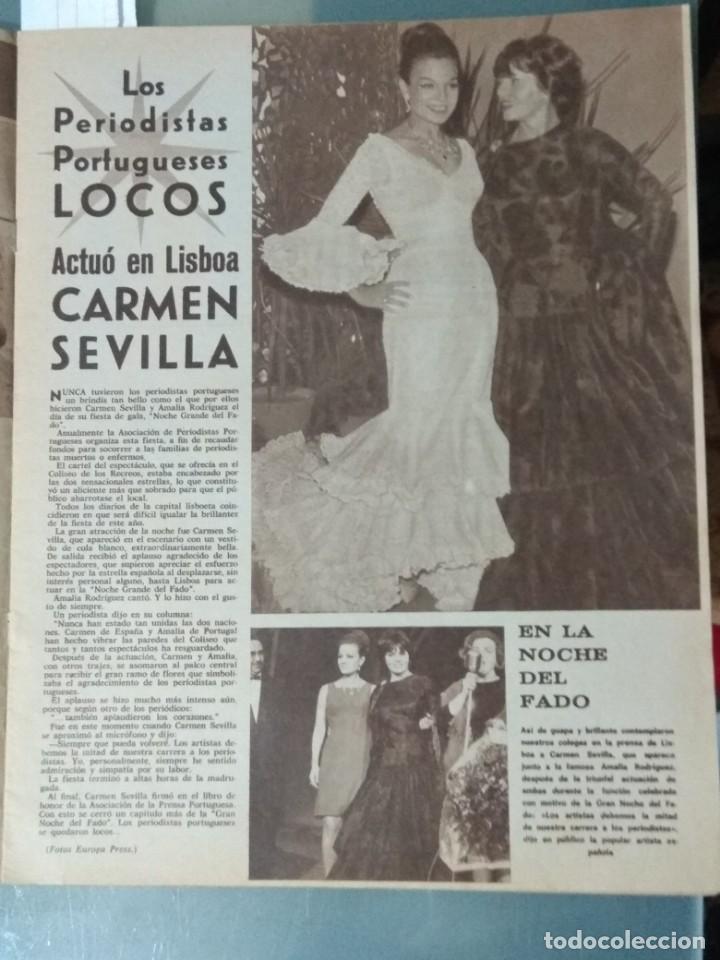 Cine: CINE EN SIETE DIAS - REVISTA Nº 302 DE 21 DE ENERO DE 1967 - Foto 3 - 207437103