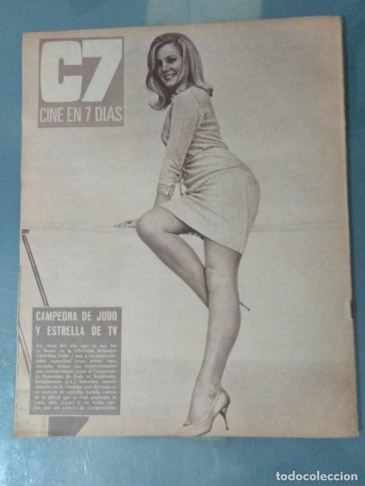 Cine: CINE EN SIETE DIAS - REVISTA Nº 302 DE 21 DE ENERO DE 1967 - Foto 8 - 207437103