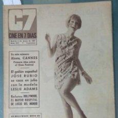 Cine: CINE EN SIETE DIAS - REVISTA Nº 317 DE 6 DE MAYO DE 1967. Lote 207437250