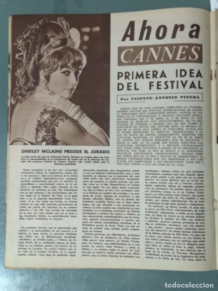 Cine: CINE EN SIETE DIAS - REVISTA Nº 317 DE 6 DE MAYO DE 1967 - Foto 2 - 207437250