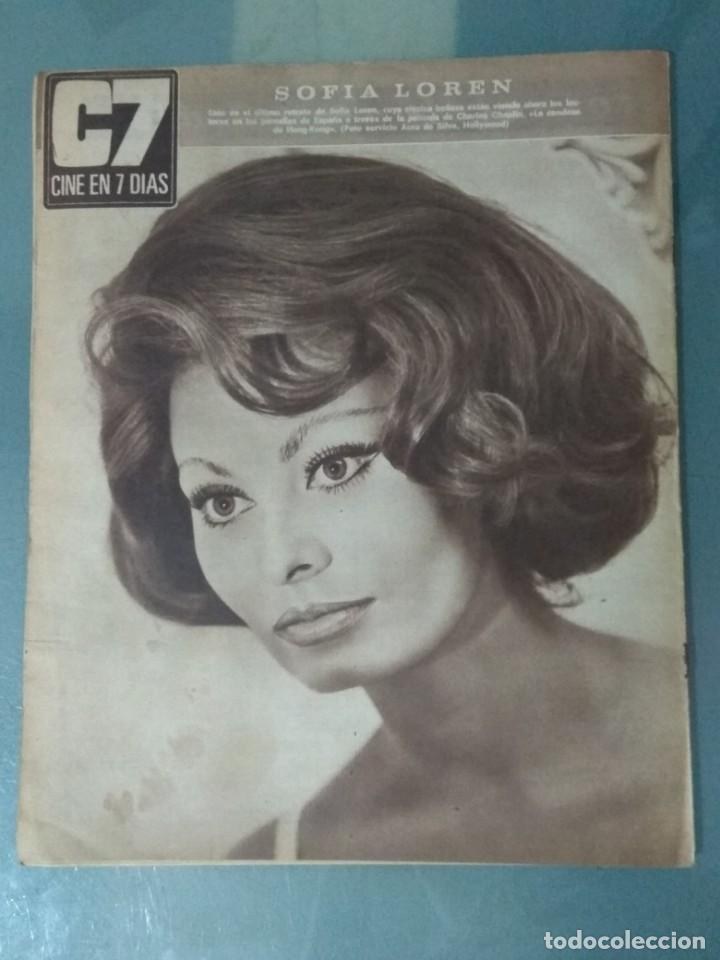 Cine: CINE EN SIETE DIAS - REVISTA Nº 317 DE 6 DE MAYO DE 1967 - Foto 6 - 207437250