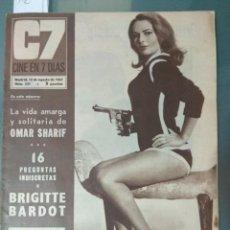 Cine: CINE EN SIETE DIAS - REVISTA Nº 331 DE 12 DE AGOSTO DE 1967. Lote 207437336