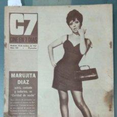 Cine: CINE EN SIETE DIAS - REVISTA Nº 345 DE 18 DE NOVIEMBRE DE 1967. Lote 207438471