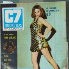 Cine: CINE EN SIETE DIAS - REVISTA Nº 415 DE 22 DE MARZO DE 1969. Lote 207438547