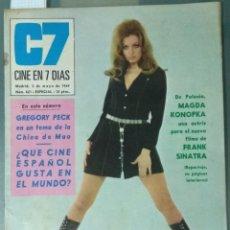 Cine: CINE EN SIETE DIAS - REVISTA Nº 421 DE 3 DE MAYO DE 1969. Lote 207438863