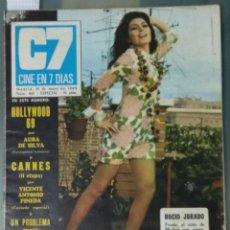 Cine: CINE EN SIETE DIAS - REVISTA Nº 425 DE 31 DE MAYO DE 1969. Lote 207438945
