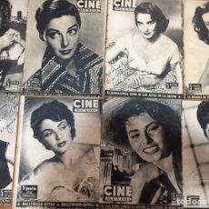 Cine: CINE MUNDO LOTE 22 REVISTAS MUCHAS DE ELLAS DESENCUADERNADAS. Lote 207594301